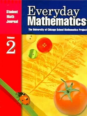 EVERYDAY MATH STUDENT'S JOURNAL RED VOL. 2