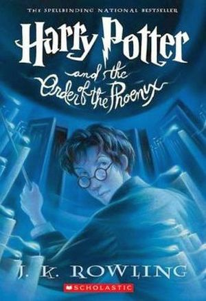 HARRY POTTER AND THE ORDER OF THE PHOENIX (RUSTICO)