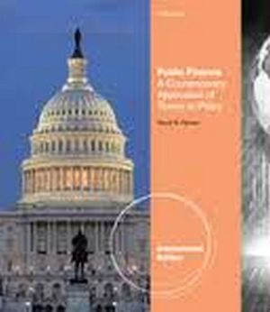 PUBLIC FINANCE A CONTEMPORARY APPLICATIONOF THEORY TO POLIC