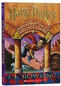 HARRY POTTER AND THE SORCERER´S STONE     (RUSTICO)