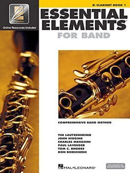ESSENTIAL ELEMENTS FOR BAND -B CLARINET BOOK 1-