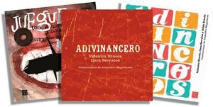 PAQUETE RECREO 1 (C/3 LIBROS) -ADIVINANCERO 2/JUEGUERO/ADIV.-