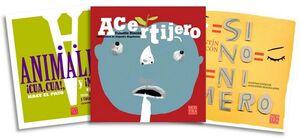 PAQUETE RECREO 2 (C/3 LIBROS) -SINONIMERO/ANIMALERO/ACERTIJERO-