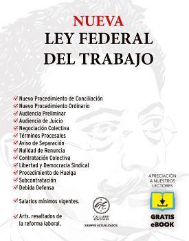 NUEVA LEY FEDERAL DEL TRABAJO 2020 (BOLSILLO C/EBOOK)