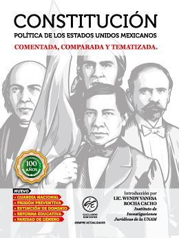 CONSTITUCION POLITICA DE LOS E.U.M. 2020 (ED.CON./COM./COMPARADA)