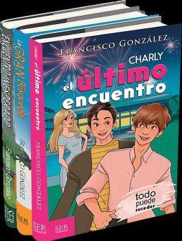 PAQUETE CHARLY (C/3 LIBROS) -EL ULTIMO/GRAN BUSQUEDA/ENCUENTRO-