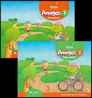 AMIGOS MATEMATICAS 1 PREESC. (ED.2018)    C/CUAD. DE ACTIVIDADES