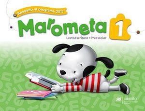 MAROMETA LECTOESCRITURA 1RO. PREESC. 3ED. (ED.2018)