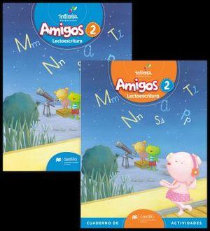 AMIGOS LECTOESCRITURA 2 PREESC. (ED.2018) C/CUAD. DE ACTIVIDADES