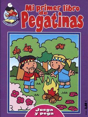 MI PRIMER LIBRO DE PEGATINAS 6 (MORADO)