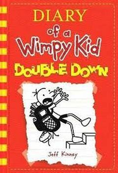DIARY OF A WIMPY KID #11 DOUBLE DOWN -PAPERBACK-