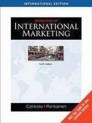 PRINCIPLES OF INTERNATIONAL MARKETING 9ED.