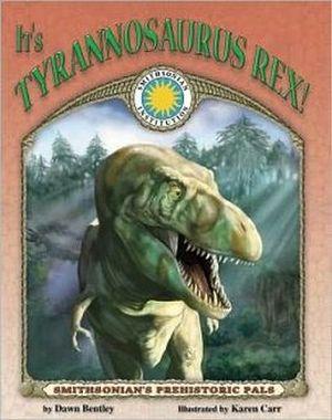 IT'S TYRANNOSAURUS REX BOOK W/CD -HARDCOVER-