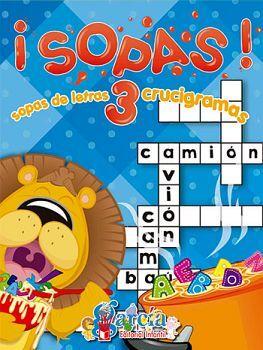 SOPAS! -SOPA DE LETRAS/CRUCIGRAMAS- 3