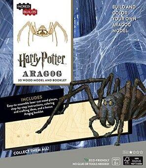 INCREDIBUILDS: HARRY POTTER ARAGOG 3D WOOD MODEL AND BOOKLET