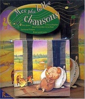 MES PLUES DE BELLES CHANSONS TOME 4 (LIBRO + CD)