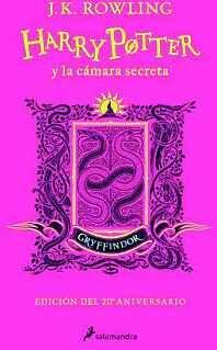 HARRY POTTER Y LA CÁMARA SECRETA (EDICIÓN GRYFFINDOR DEL 20º ANIVERSARIO)