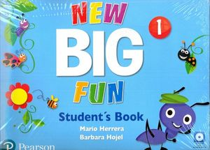 NEW BIG FUN 1 STUDENT BOOK AND CD-ROM