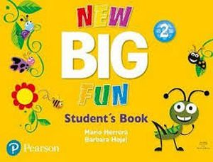 NEW BIG FUN 2 STUDENT BOOK AND CD-ROM