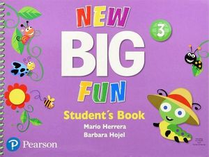 NEW BIG FUN 3 STUDENT BOOK AND CD-ROM
