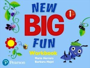 NEW BIG FUN 1 WORKBOOK WITH AUDIO CD