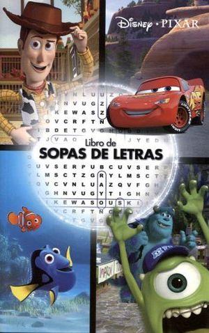 LIBRO DE SOPAS DE LETRAS -DISNEY PIXAR-    (CHICO)