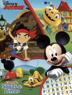LIBRO DE SOPAS DE LETRAS -DISNEY JUNIOR-   (MICKEY)