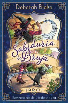 SABIDURIA DE BRUJA -TAROT-           (INCLUYE 78 CARTAS Y MANUAL)