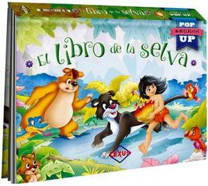 LIBRO DE LA SELVA, EL                (COL. POP-UP MINICLASICOS)