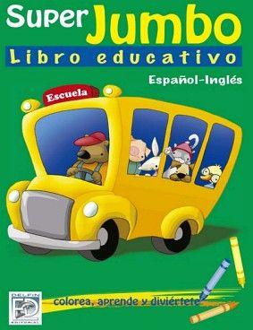 SUPER JUMBO -LIBRO EDUCATIVO- (ESPAÑOL-INGLES/VERDE)