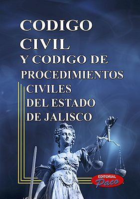 CODIGO CIVIL Y DE PROCED. CIVILES DE JALISCO 2018