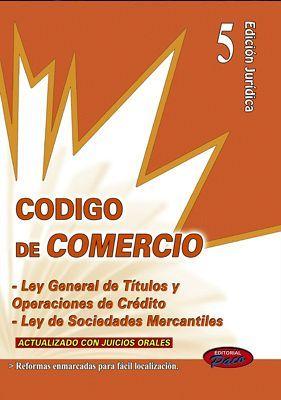 CODIGO DE COMERCIO Y LEYES COMP.2018 -ACT. C/JUICIOS- (ED.JURID.5