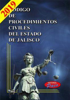 CODIGO DE PROCEDIMIENTOS CIVILES DE JALISCO 2019