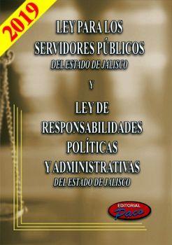 LEY PARA LOS SERVIDORES PUBLICOS DEL EDO. DE JALISCO 2019