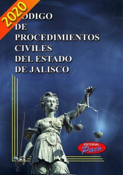 CODIGO DE PROCEDIMIENTOS CIVILES DE JALISCO 2020