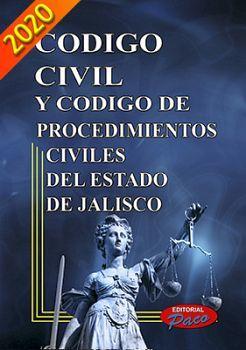 CODIGO CIVIL Y DE PROCED. CIVILES DE JALISCO 2020