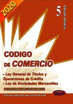 CODIGO DE COMERCIO Y LEYES COMP.2020 (ED.JURIDICA)