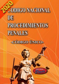 NUEVO CODIGO NACIONAL DE PROCED.PENALES 2020 -CODIGO UNICO-