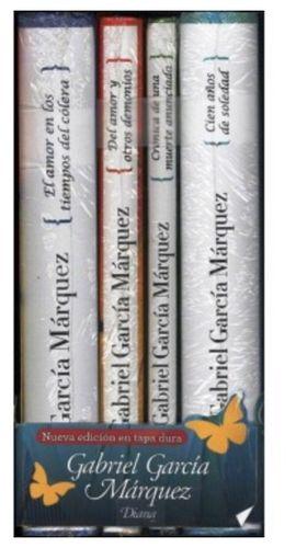 Paquete Gabriel Garcia Marquez Empastados 4 Libros