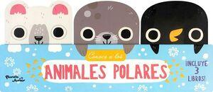 CONOCE A LOS ANIMALES POLARES             (C/3 LIBROS/CARTONE)
