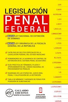 LEGISLACION PENAL FEDERAL 2020