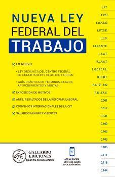 NUEVA LEY FEDERAL DEL TRABAJO 2020 (AMARILLA)