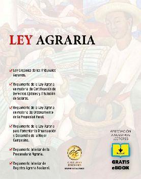 LEY AGRARIA 2020 (BOLSILLO C/REGLAMENTO INTERIOR PROC.AGR.+EBOOK)