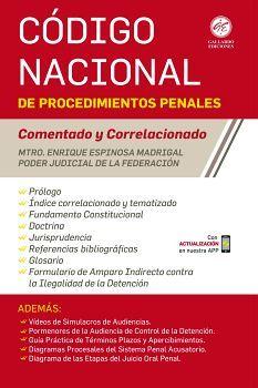 CODIGO NACIONAL DE PROCEDIMIENTOS PENALES 2020 (COMENTADO/CORR.)