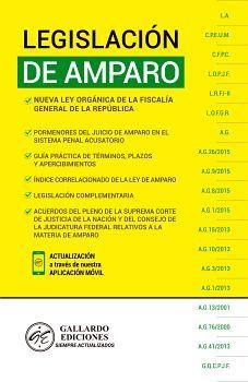 LEGISLACION DE AMPARO 2020 (AMARILLO)