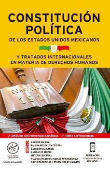 CONSTITUCION POLITICA DE LOS E.U.M. 2020 (Y TRATADOS INTERN.)