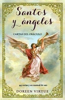 SANTOS Y ANGELES -CARTAS DEL ORACULO-     (C/44 CARTAS/MANUAL)