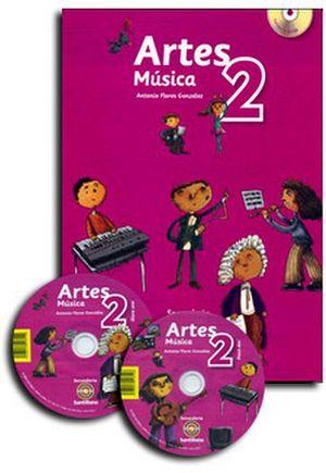 KIT ARTES 2DO. SEC. (MUSICA)  (C/CD) -S.INTEGRAL-