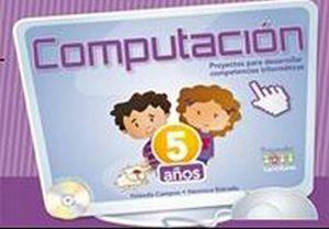 COMPUTACION PREESCOLAR 5 AÑOS C/CD