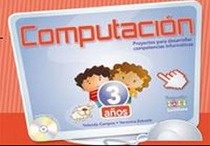 COMPUTACION PREESCOLAR 3 AÑOS C/CD